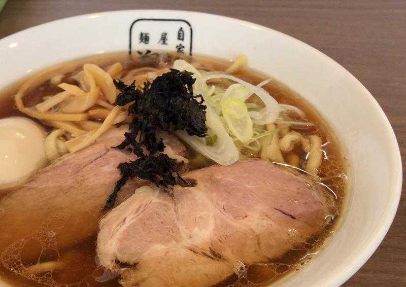 アゴダシラーメン 太麺 普通