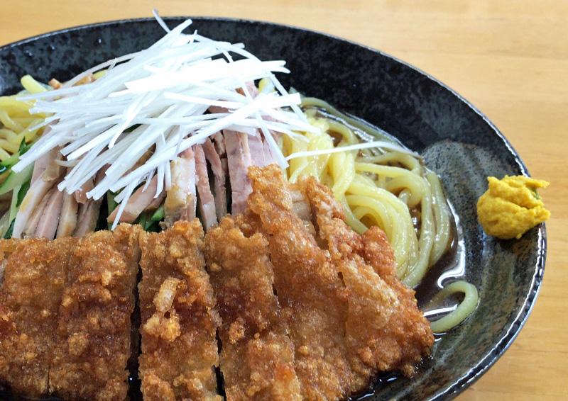 手打ち拉麺 味の新宮 小鶴店 『冷やしパーコー麺』